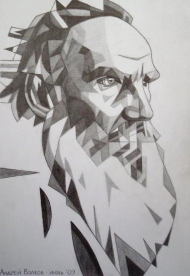 Léon Tolstoï por volkov